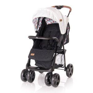 Детска лятна количка INES LORELLI -  Grey&Black CROSS