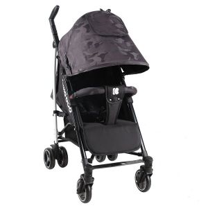 Лятна детска количка Kingsy KIKKABOO - Black