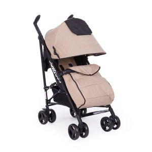 Лятна детска количка Quincy KikkaBoo - Beige Melange