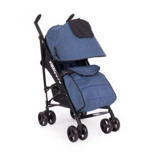 Лятна детска количка Quincy KikkaBoo - Blue Melange