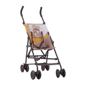 Лятна детска количка FLASH LORELLI - Beige&Yellow Happy Family