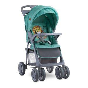 Лятна детска количка FOXY LORELLI - Green Indians