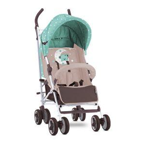 Лятна детска количка IDA LORELLI - Green&Beige Moon Bear
