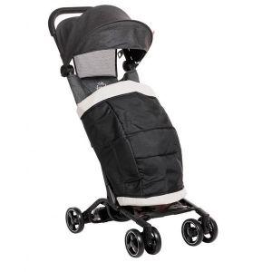 Лятна детска количка с покривало Luka ZIZITO - сив с камуфлаж