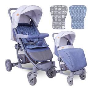 Детска количка S-300 LORELLI - Grey Rhombs