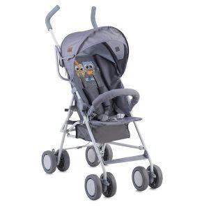 Лятна количка TREK LORELLI - Grey Baby Owls