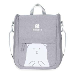 Преносимо легло-чанта 2в1 Bear KIKKABOO - Grey