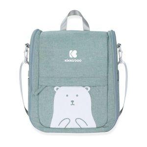 Преносимо легло-чанта 2в1 Bear KIKKABOO - Mint