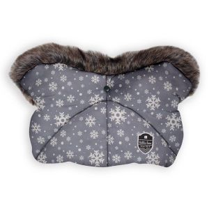 Ръкавица за количка Shiny Nylon KIKKABOO - Snow Flakes