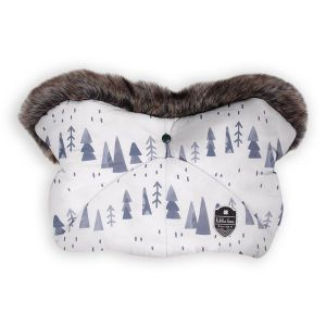 Ръкавица за количка Shiny Nylon KIKKABOO - Snow Forest