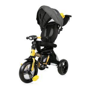 Сгъваема детска триколка ENDURO LORELLI - Yellow&Black