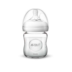 Бебешко шише за хранене Natural 120 ml. Philips AVENT - стъклено