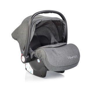 Детско столче - кошница за кола Veyron MONI - тъмно сив