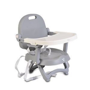 Повдигащ стол за хранене Papaya CANGAROO - сив