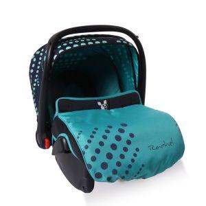 Столче - кошничка за кола 0-13 кг. Rachel CANGAROO - сини точки