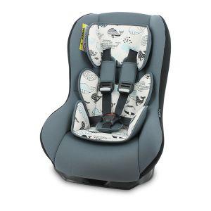 Стол за кола 0-18 кг. BETA PLUS LORELLI - Grey WHALES