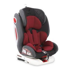 Стол за кола 0-36 кг. с Isofix ROTO LORELLI - BLACK&RED