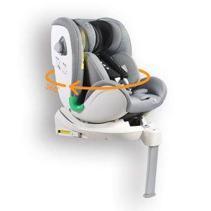 Стол за кола 0-36 кг. с Isofix COMMODORE CANGAROO - светло сив
