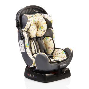 Столче за кола 0-25 кг. Guardian MONI - сив