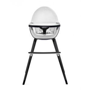 Столче за хранене 2в1 FINI KinderKraft - all black