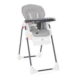 Столче за хранене DULCE LORELLI - Grey LEATHER