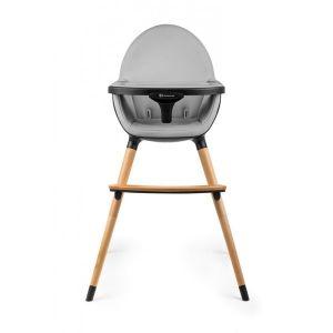 Столче за хранене 2в1 FINI KinderKraft - черно