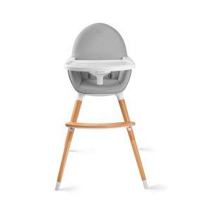 Столче за хранене 2в1 FINI KinderKraft - сиво