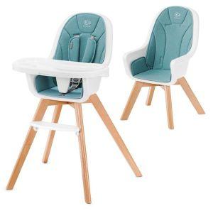 Столче за хранене 2в1 TIXI KinderKraft - тюркоаз