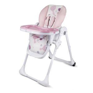 Столче за хранене Yummy KinderKraft - розово