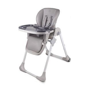 Столче за хранене Yummy KinderKraft - сиво
