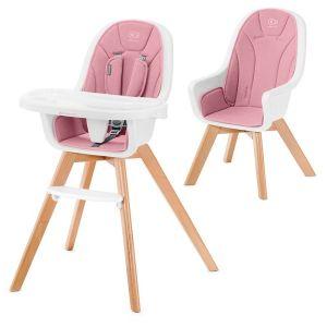 Столче за хранене 2в1 TIXI KinderKraft - розово