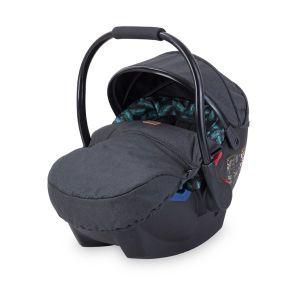 Столче за кола 0-13 кг. RIMINI LORELLI - Black LEAVES