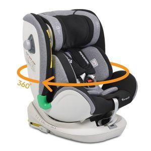Стол за кола 0-36 кг. с Isofix GENERAL CANGAROO - сив