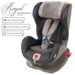Детско столче за кола Glider Royal 9-25 кг. с IsoFix AVIONAUT - черно