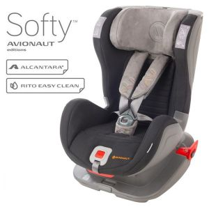 Столче за кола 9-25 кг. Glider Softy AVIONAUT - черно/сиво