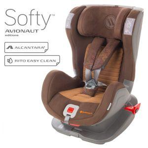Столче за кола 9-25 кг. Glider Softy AVIONAUT - кафяво