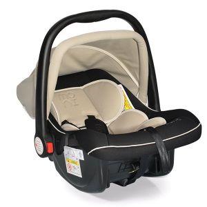 Детско столче - кошничка за кола 0-13 кг. Luna MONI - бежов