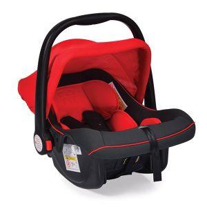 Детско столче - кошничка за кола 0-13 кг. Luna MONI - червен