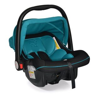 Детско столче - кошничка за кола 0-13 кг. Luna MONI - тюркоаз
