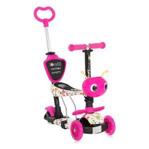 Тротинетка Smart Plus LORELLI - Pink BUTTERFLY